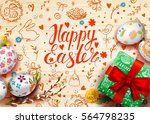 template vector card with...   Shutterstock .eps vector #564798235