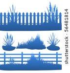 illustration of grass | Shutterstock .eps vector #56481814