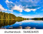 Lake Reflection Landscape In...
