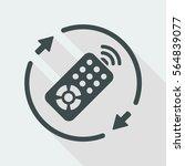 steady tv services   vector web ... | Shutterstock .eps vector #564839077