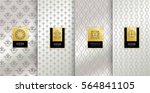 collection of design elements... | Shutterstock .eps vector #564841105