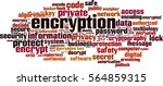 encryption word cloud concept.... | Shutterstock .eps vector #564859315