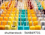 variety of ice creams in the... | Shutterstock . vector #564869731