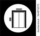 elevator icon | Shutterstock .eps vector #564876571
