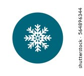 snowflake icon | Shutterstock .eps vector #564896344