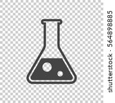 chemical test tube pictogram... | Shutterstock .eps vector #564898885
