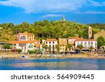 collioure  france   july 5 ... | Shutterstock . vector #564909445