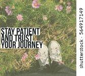 inspiration motivation quote... | Shutterstock . vector #564917149