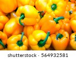 Yellow Bell Peppers With Bright ...