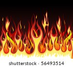 inferno fire vector background...
