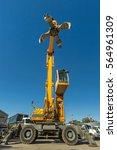 recycling grapple | Shutterstock . vector #564961309