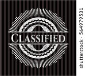 classified silvery emblem   Shutterstock .eps vector #564979531