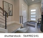 bright entryway with creamy... | Shutterstock . vector #564982141