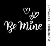 handwritten lettering quote...   Shutterstock .eps vector #564991147