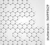 abstract dna background. vector ... | Shutterstock .eps vector #564995629
