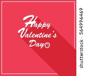 valentine's day card | Shutterstock .eps vector #564996469
