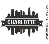 Charlotte Skyline Silhouette...