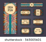 business cards  invitations and ... | Shutterstock .eps vector #565005601