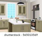 kitchen  design  kitchen icon... | Shutterstock .eps vector #565013569