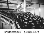bottle beer production | Shutterstock . vector #565016275