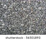 Background Of Rocky Gravel...