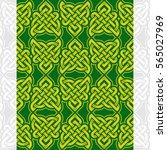 celtic heart shape vector... | Shutterstock .eps vector #565027969