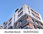modern apartment building | Shutterstock . vector #565054261