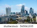 london view on business modern... | Shutterstock . vector #565061335