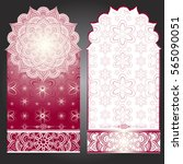 wedding invitation or card .... | Shutterstock .eps vector #565090051