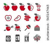 apple icon | Shutterstock .eps vector #565147465
