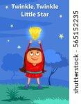 twinkle twinkle little star ...   Shutterstock .eps vector #565152235