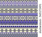 ethnic seamless pattern with...   Shutterstock .eps vector #565172491