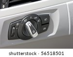 detail of lights button control ... | Shutterstock . vector #56518501