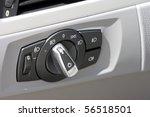 detail of lights button control ... | Shutterstock . vector #56518501