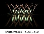 long exposure photo of multiple ... | Shutterstock . vector #56518510