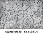 deep large cracks on the... | Shutterstock . vector #56518564