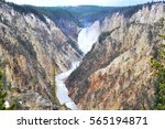 the grand canyon of yellow... | Shutterstock . vector #565194871