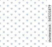 seamless heart pattern... | Shutterstock .eps vector #565231879