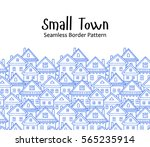 seamless vector pattern with... | Shutterstock .eps vector #565235914