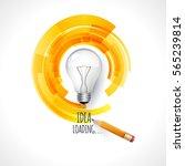 idea. design of progress bar ... | Shutterstock .eps vector #565239814