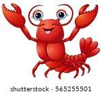 vector illustration of cute... | Shutterstock .eps vector #565255501