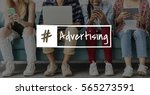 Small photo of Advertising Social Consumer Advertisement Icon