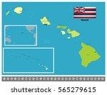 hawaii | Shutterstock .eps vector #565279615