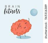 brain fitness | Shutterstock .eps vector #565316389