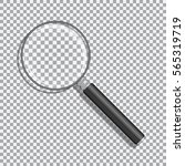 realistic magnifying glass with ...   Shutterstock .eps vector #565319719
