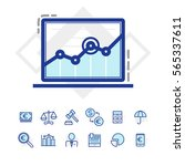 finance and business icons | Shutterstock .eps vector #565337611