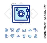 finance and business icons | Shutterstock .eps vector #565337629