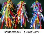 typical colorful ribbons at... | Shutterstock . vector #565350391