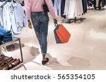 woman shopping in a shopping