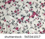 the beautiful of art fabric... | Shutterstock . vector #565361017